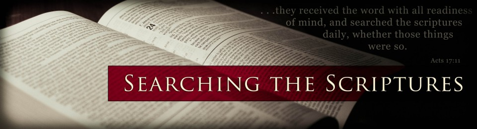 searching-scriptures